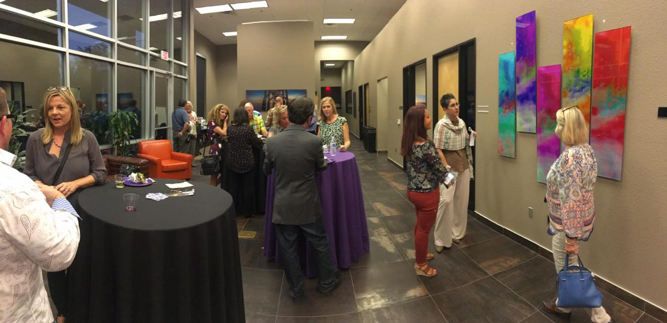 Artisan Emily Randolph event guests