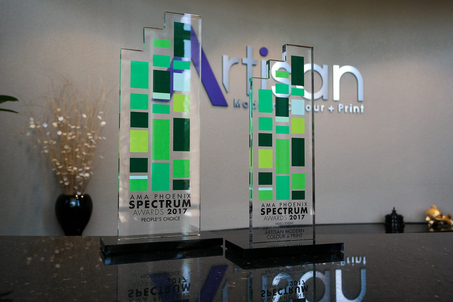 2017 Spectrum Awards Artisan Lobby