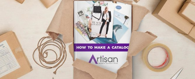 how to make a catalog with Artisan Colour