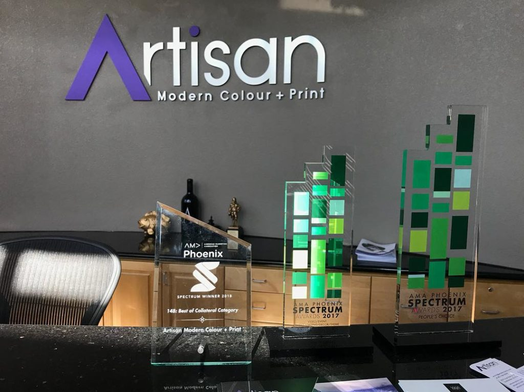 Artisan Colour Wins Best Collateral Spectrum Award 2018