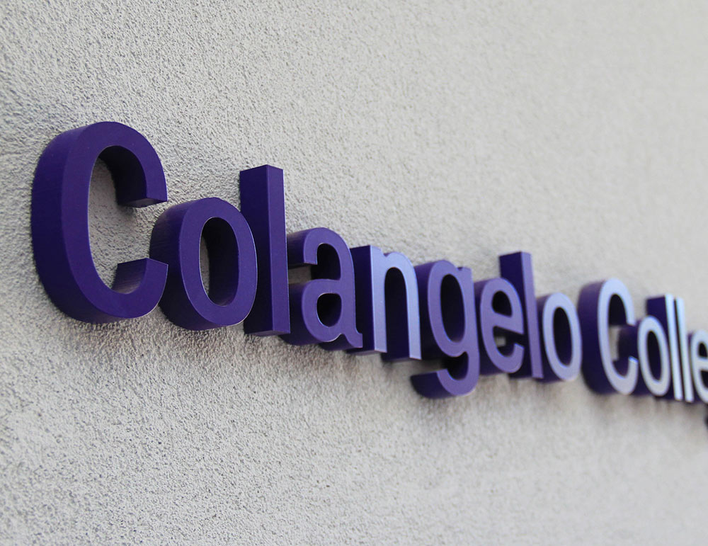 GCU Colangelo College of Business Sign
