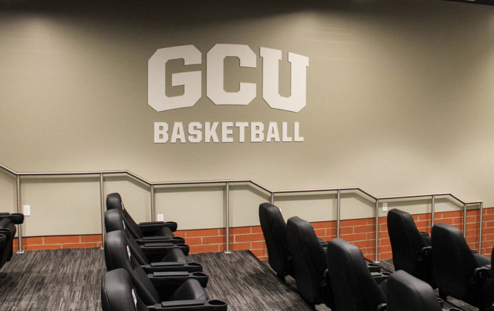 GCU Basketball Wall Sign