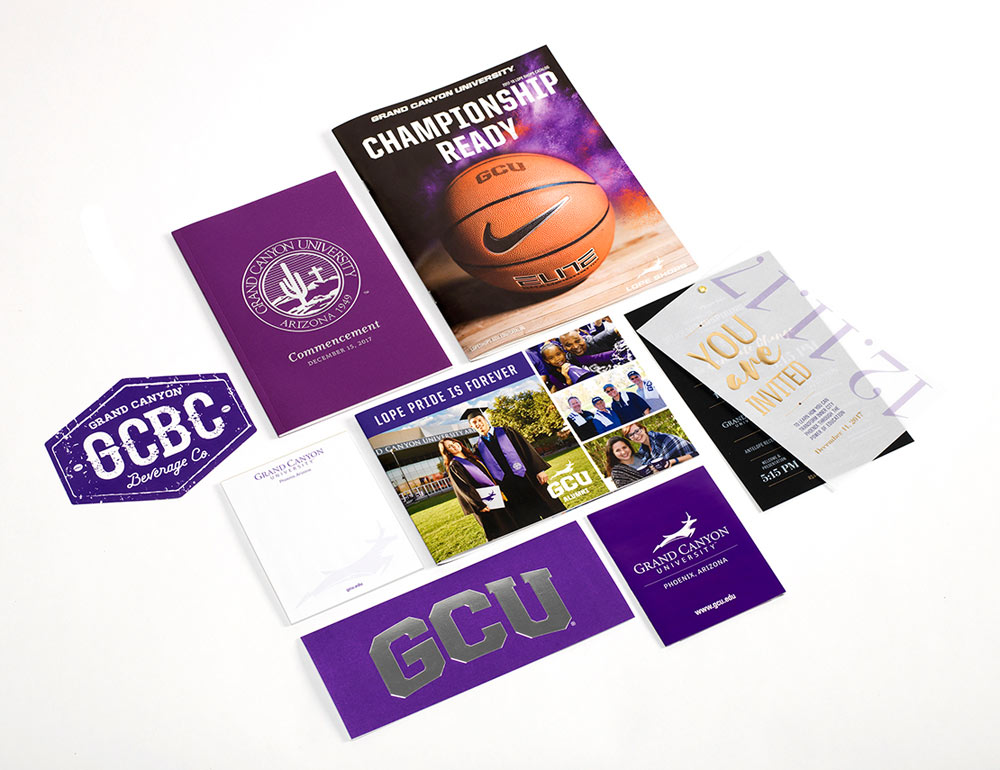 Grand Canyon University Sales & Marketing Collateral Spread