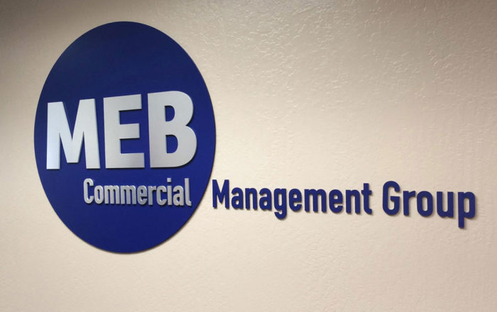MEB Commercial Management Group Signage