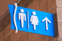 OdySea in the Desert Bathroom Signage Created by Artisan Colour