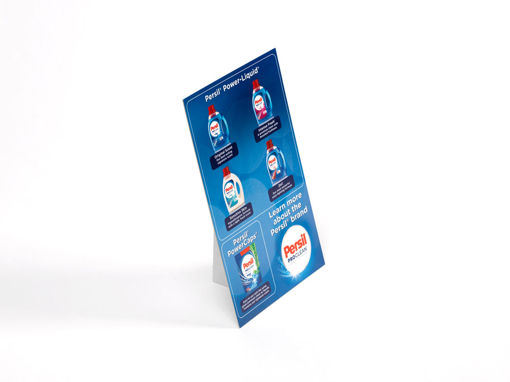 Persil Stand Up POP Display