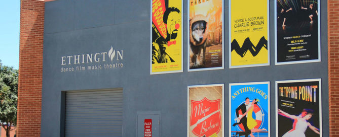 Large Format Promotional Banners For Ethington Theatre at Grand Canyon University