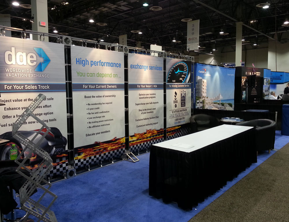 Trade Show Event Informational Walls Environmental Graphics