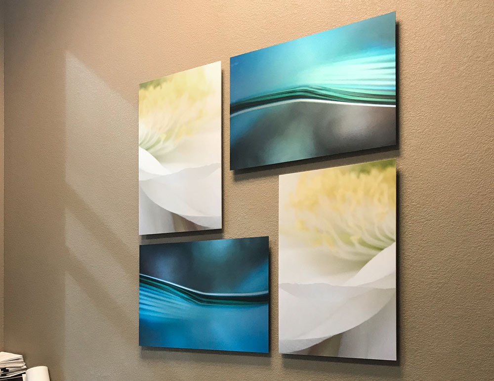 Wall Art Gallery Cluster of Fine Art Prints from ArtisanHD