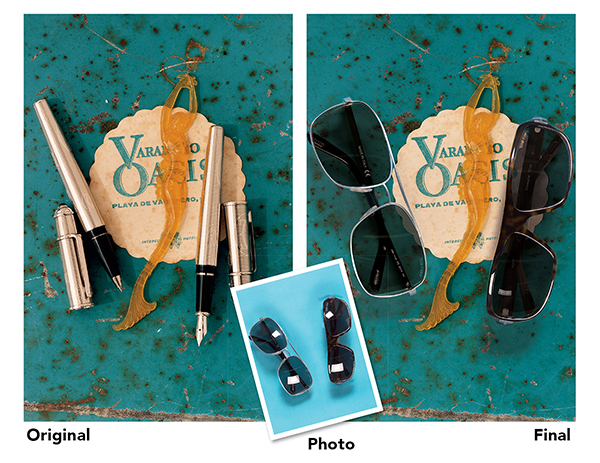 sunglasses custom product photography image retouching