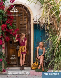 prAna Fall 2018 Catalog Cover, Catalog Printing Services By Artisan Colour