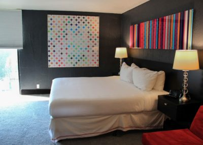 Direct to Acrylic Diamond Print Installed at The Clarendon Hotel