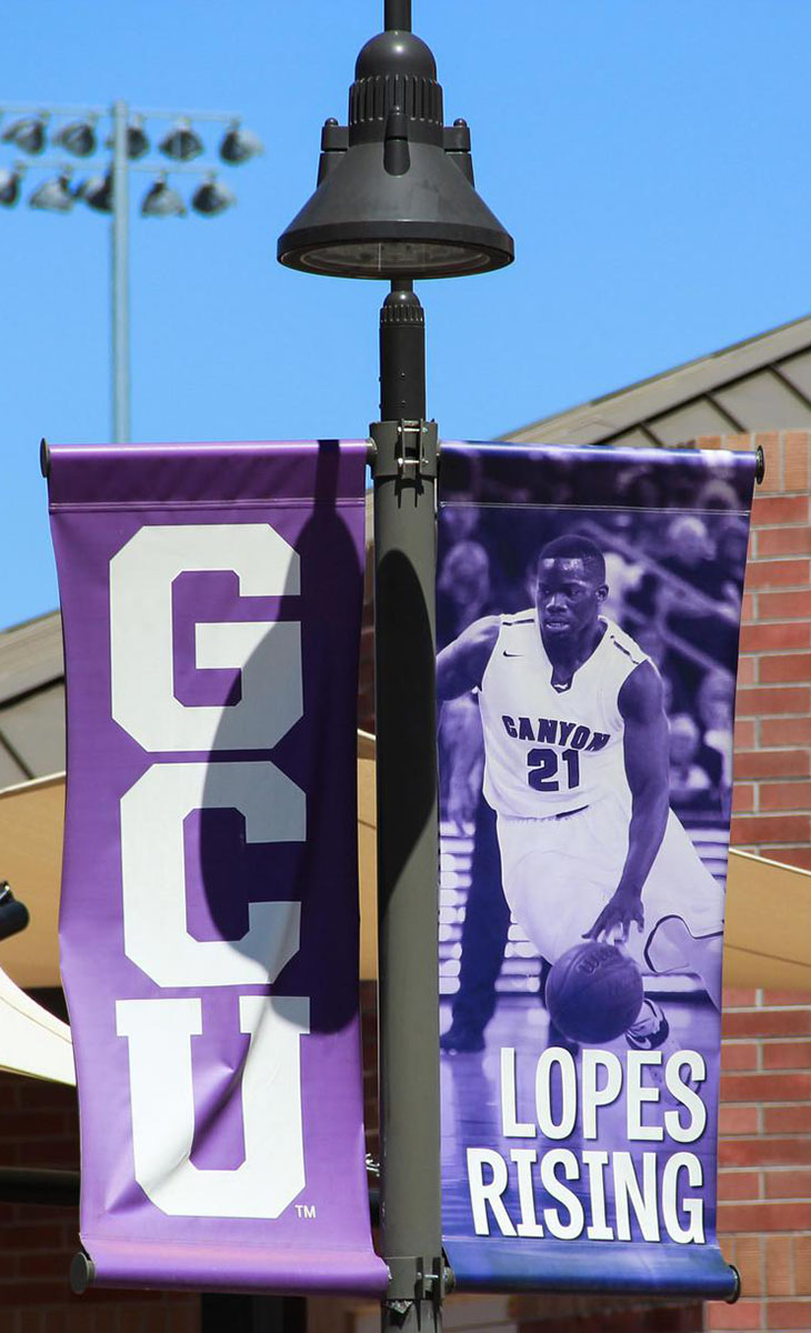 GCU Lamp Post Outdoor Banners