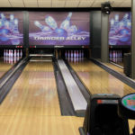 GCU Thunder Bowling Alley Wall Mural Display Graphics