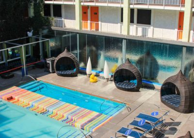 The Clarendon Hotel Pool