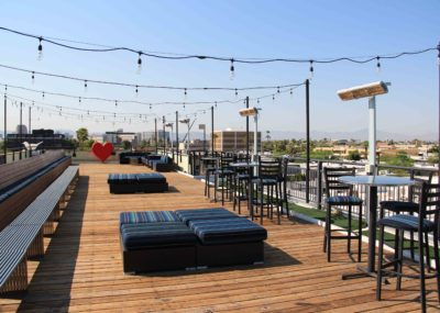 The Clarendon Hotel Rooftop Bar