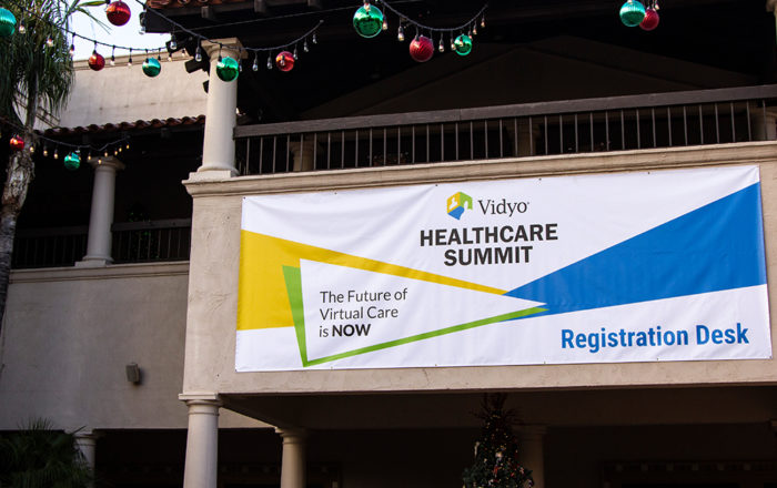 Healthcare Summit Holiday Event Banner