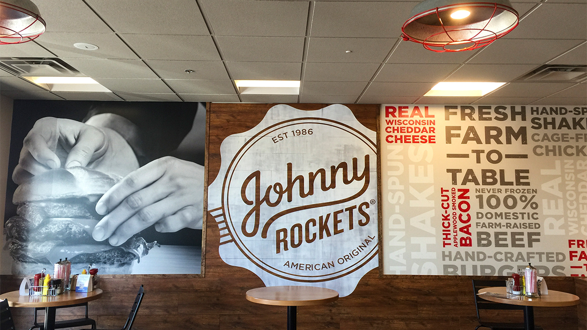 Johnny Rockets Wall Graphics from ArtisanColour