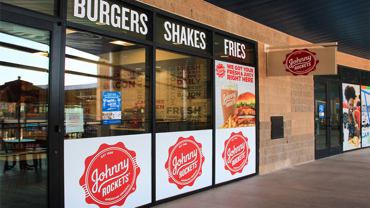 Johnny Rockets Wall Window Graphics ArtisanColour