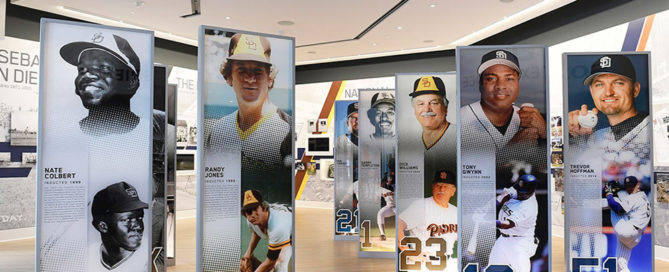 San Diego Padres Baseball Club Banners Environmental Graphics ArtisanColour