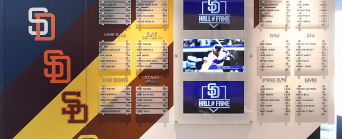 San Diego Padres Signage Environmental Graphics ArtisanColour