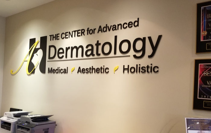 Signage Dermatology Office ArtisanColour