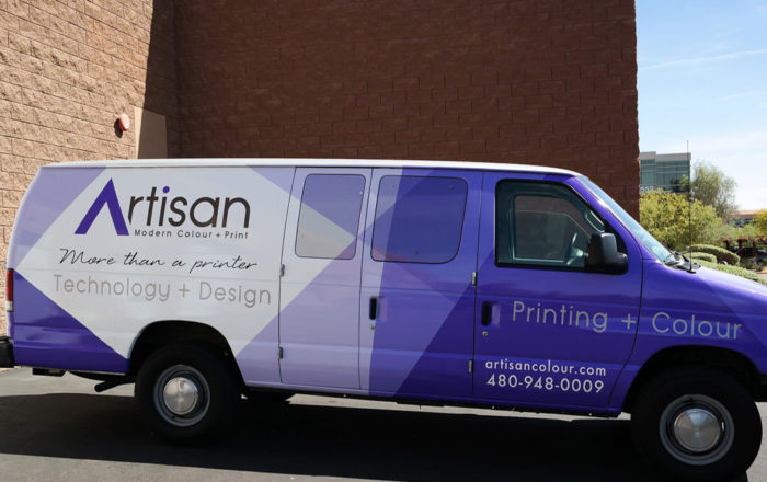 Artisan Colour Van Vehicle Wraps