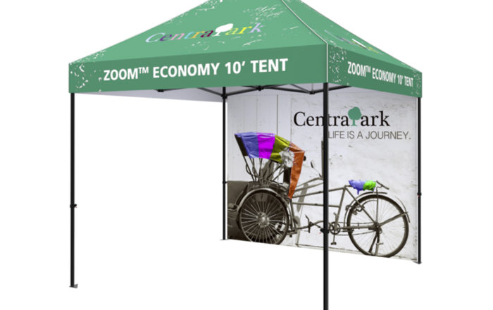 Full Wall Pop Up Tent Tradeshow Event Artisancolour