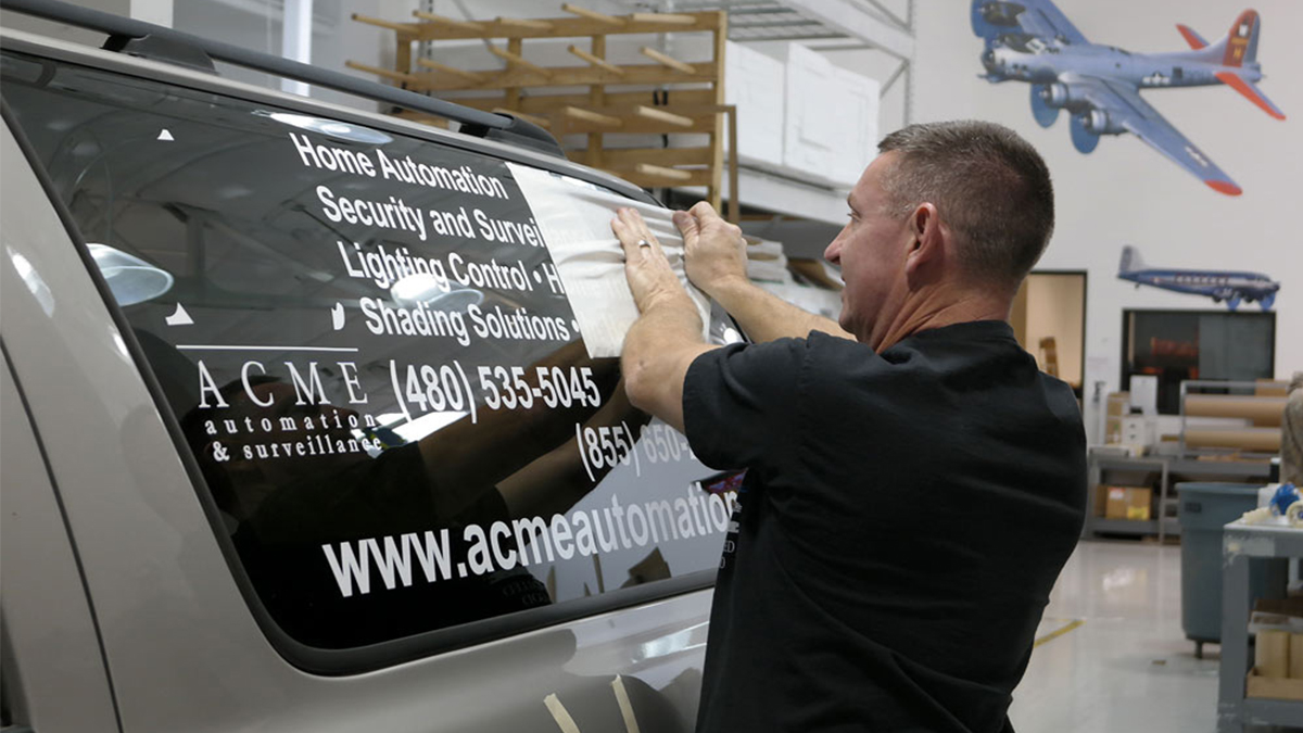 Window Lettering Custom Vehicle Graphics Fleet Wraps Printing Vehicle Wrapping Installation Services