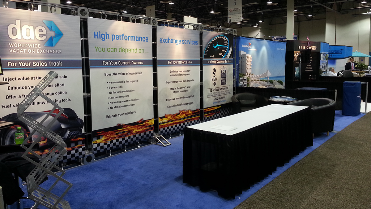 Trade Shows And Event Graphics That Stand Out Artisan Colour