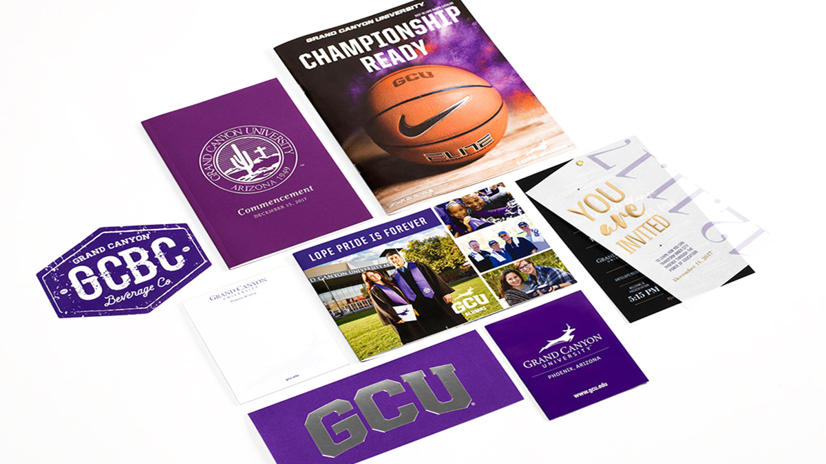 GCU Marketing Collateral Direct Marketing ArtisanColour