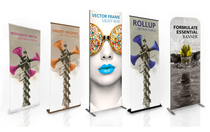 retractable banner stands trade show artisancolour