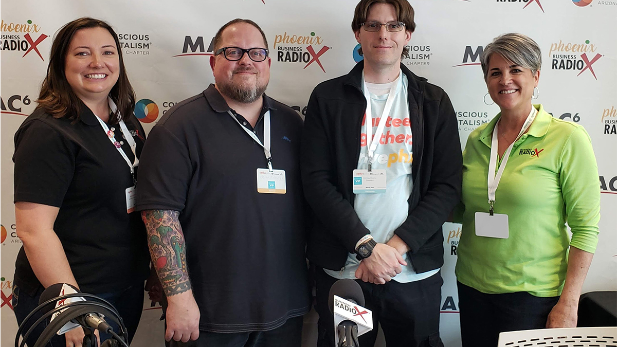local printer on radiox phxstartupweek artisancolour