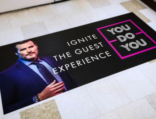Floor Graphics Maximize Your Company Ad Space