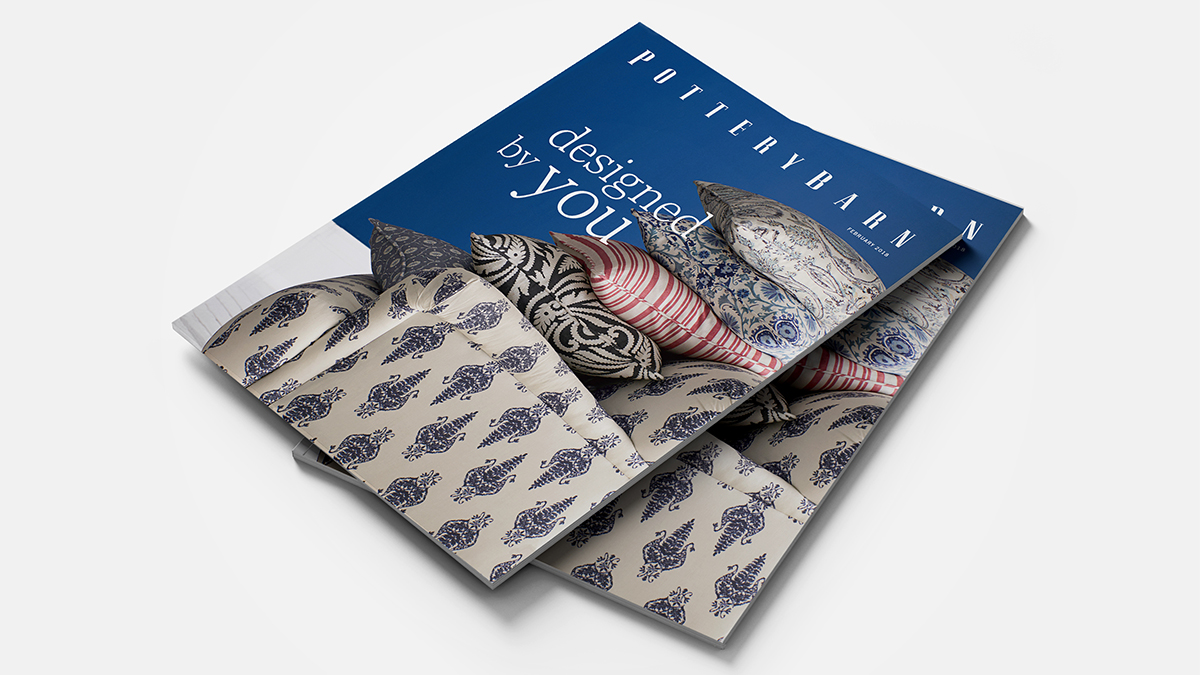 pottery barn artisan catalog cover