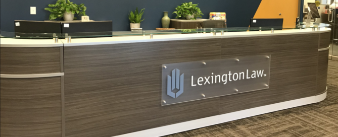 Lexington Law Acyrlic Sign by Artisan Colour Hero Image