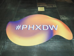 PHXDW 2019 Event Removeable Floor Graphics