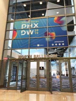PHXDW 2019 Evolve Design Conference Window Graphics