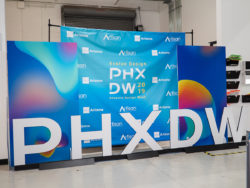 PHXDW 2019 Step and Repeat Banner