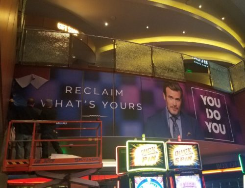 Environmental Graphics Printing Make an Impact at Gila River Casinos