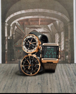 Artisan Colour photography studio used to change watch color - 3 styles of watches