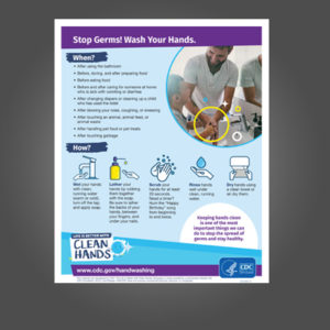 Wash your hands fact sheet for shop.artisancolour.com