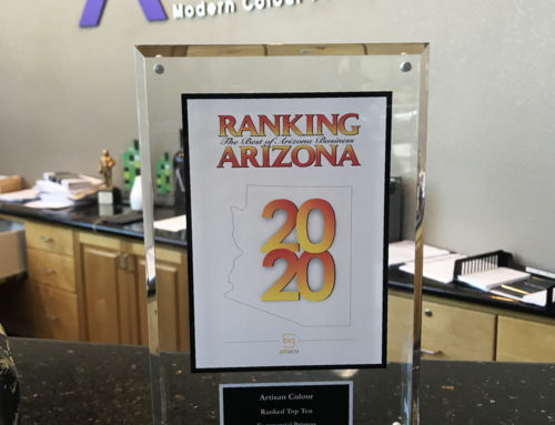 Thank You for Voting Artisan Colour a Top Commercial Printer in Arizona