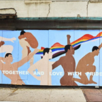 Mural for Todd Synder at the Liquor Store Pride Week2