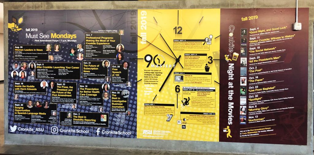 ASU Wall Mural S1 higher education marketing