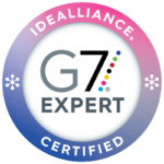 idealliance certificate badge G7 expert