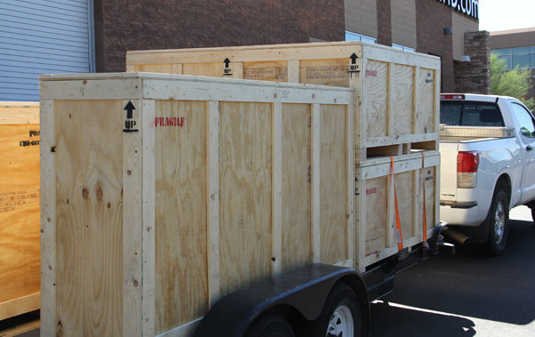 Large Scale Shipping for Franchise Digital Printing Clients