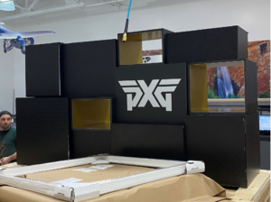 How a Retail Display Helps Achieve In-Store Goals: PXG Golf - display production