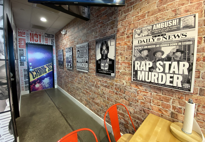 Wall graphics by Artisan Colour at Monroe's Hot Chicken