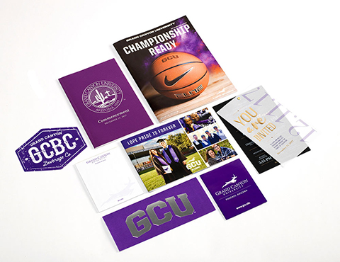 Grand Canyon University Sales Collateral Spread thumb